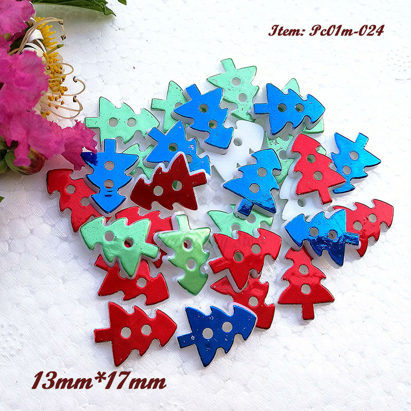 Blue And Green Christmas Tree: 250pcs One / Mixed Color Red Blue Green Christmas Tree