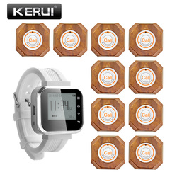 Kerui kr c166 wireless watch wrist pager call system for hospital restaurant wireless waiter service call.jpg 250x250