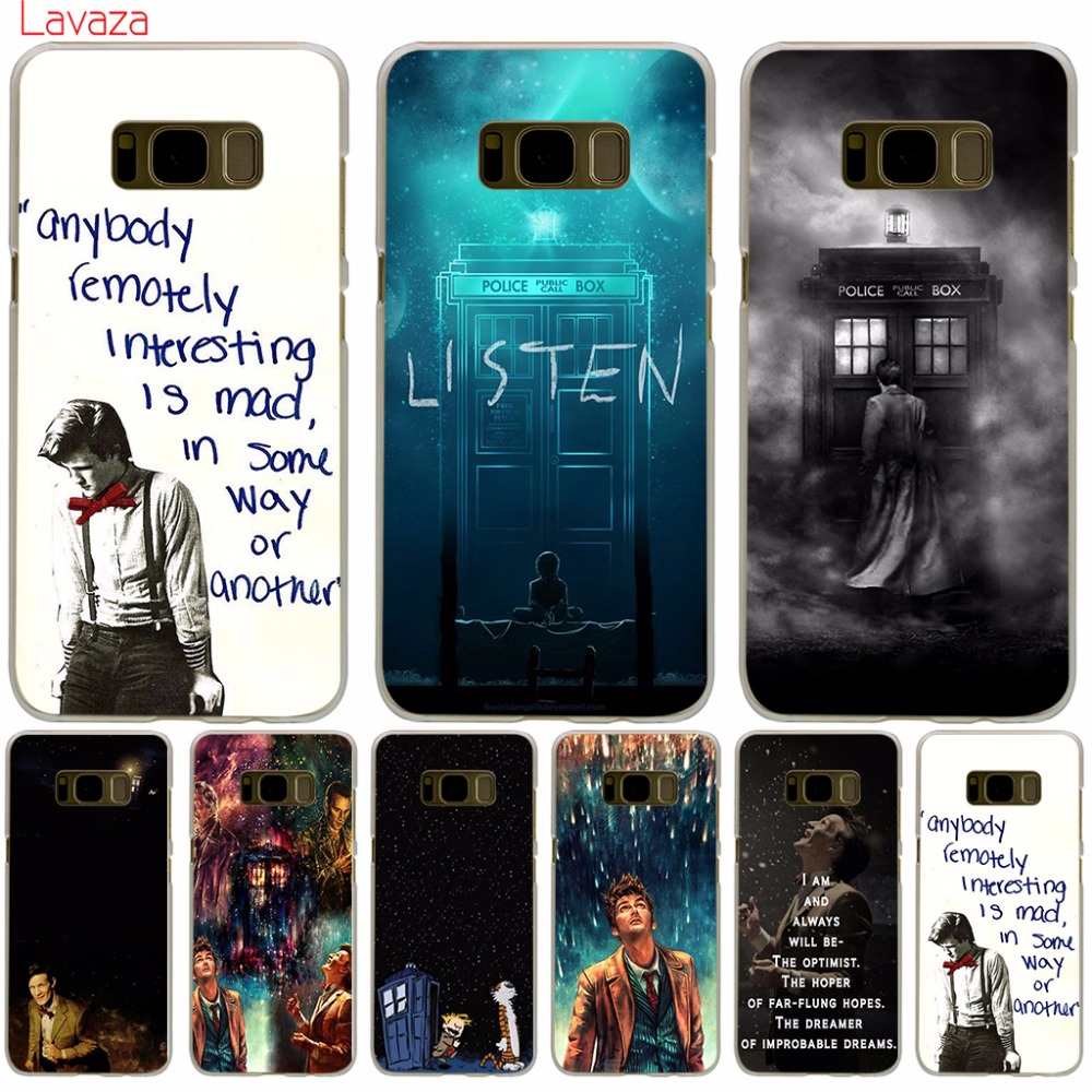Lavaza Doctor Who Hard Cover Case for Samsung Galaxy S9 S6 S7 Edge S8 Plus S3 S4 S5 Mini Cases Shell