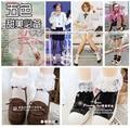 Лолита Princess100 % хлопок Белого кружева украшения женские старинные короткие носки