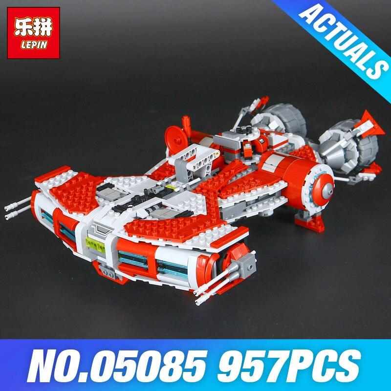 Lepin 05085 Star Genuine Wars Series The Je Classcal di Defender Cruiser Set 75025 Building Blocks Bricks Educational Toys Gift