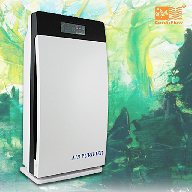 Coronwater Multiply Air Purifier HEPA, Activated, Carbon, Ozone, Negative ion, UV, GL-8138  Air freshener for homes