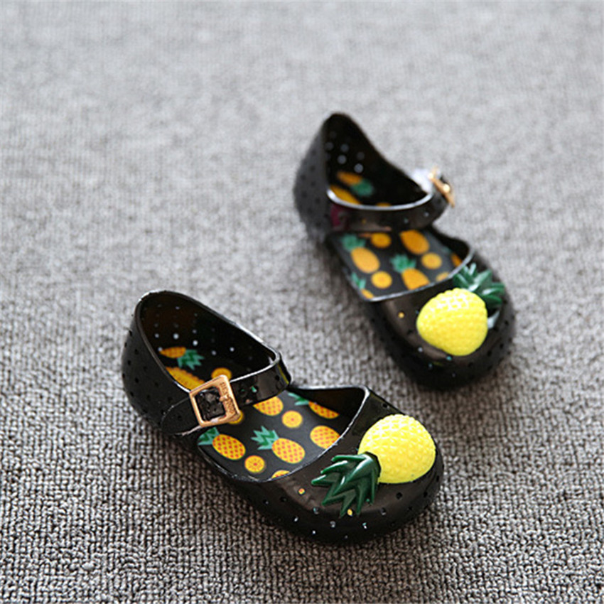 PU TIAN Baby Soft Sole Buty Pineapple Fruit Jelly Summer Baby Shoes - Obuwie dziecięce - Zdjęcie 4