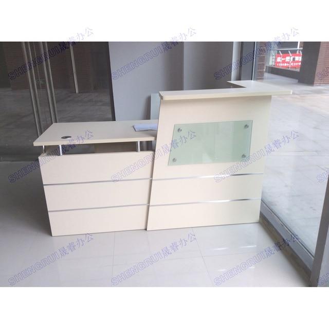 Shanghai Minimalist Fashion Company Reception Desk Reception Table Desk  Office Reception Desk Cashier Counter