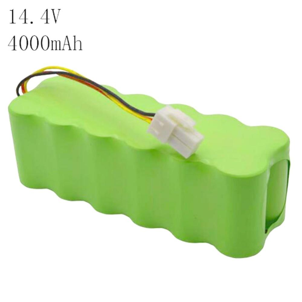14.4V 4000mAh NI-MH Vacuum Cleaner Rechargeable battery 4.0 Ah for Samsung NaviBot SR8840 SR8845 SR8855 SR8895 VCR8845 VCR8895 2x 12v 3 0ah ni mh rechargeable tools battery for hitachi eb1220hl eb1226hl eb1230hl eb1230x 322629 323226 324279 324360