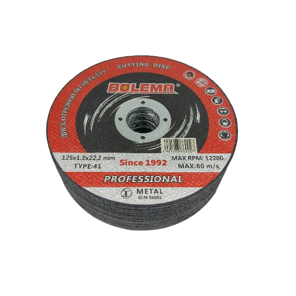 """Am-Tech 3pc Metal Grinding Disc 115mm 4 1//2/"""" Angle Grinder Discs Cutting"""
