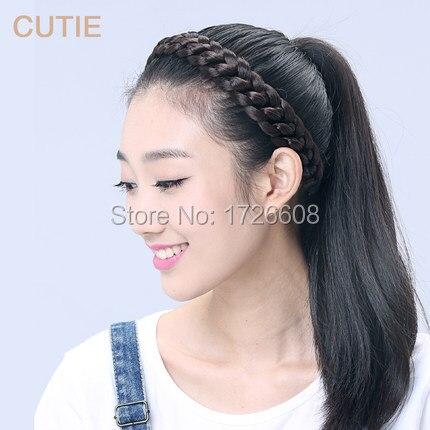 New Hair Accessories for Women Thick Braided Headbands Fishtail Braids New  Bohemian Wigs Loose Braid Elastic Hair Band Extension on Aliexpress.com  39f3e9255a4