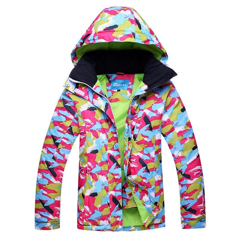 2019 nouveau chaud Ski vestes femmes snowboard veste femme hiver Sportswear neige Ski veste respirant imperméable coupe-vent