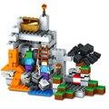 Lepin MI MUNDO La Cueva Steve Zombie Araña Minecrafted Figuras Building Blocks Ladrillos Set divertidos Juguetes para Niños de Regalo