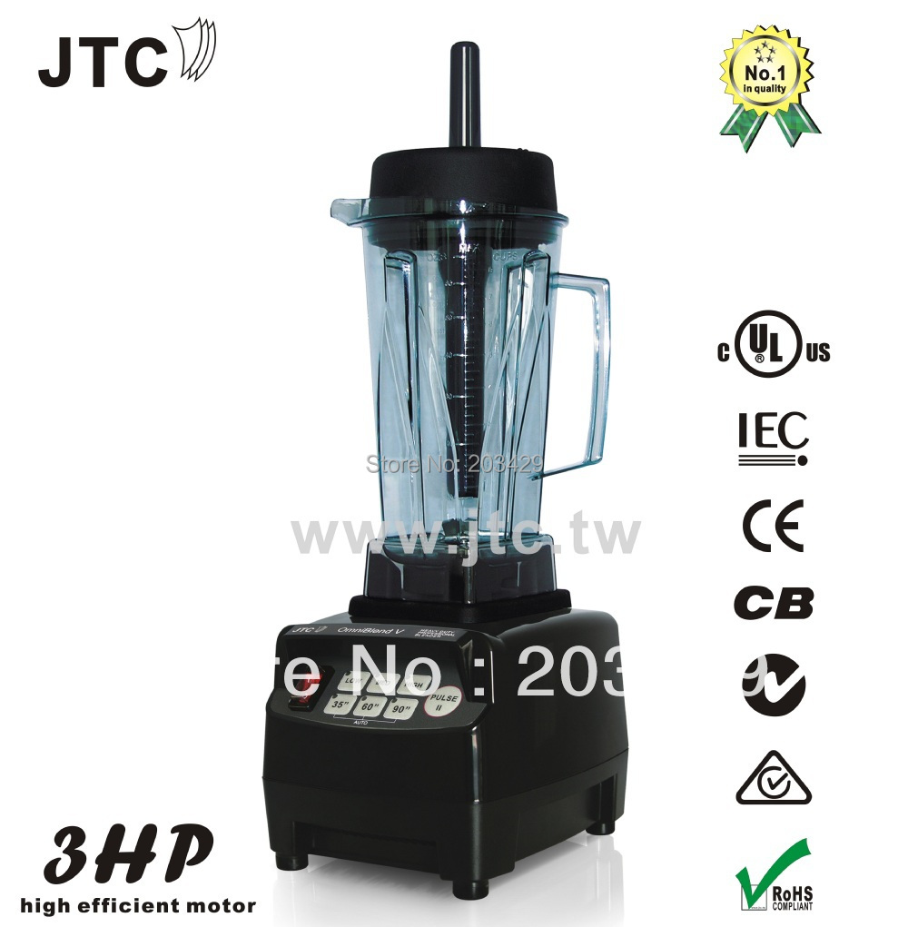 Heavy duty commercial blender with PC jar, Model:TM-800, Black, FREE SHIPPING, 100% GUARANTEED NO. 1 QUALITY IN THE WORLD. jtc heavy duty commercial blender with pc jar model tm 800 black free shipping 100