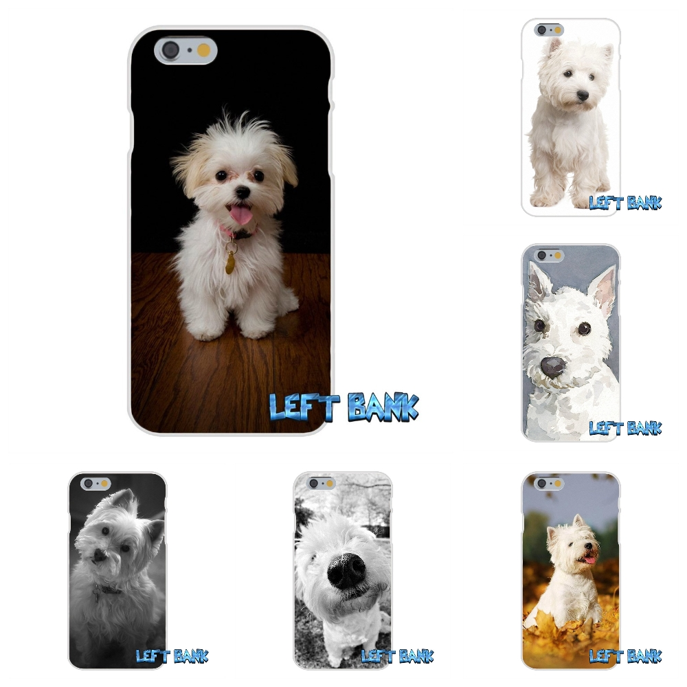 Westie dog Soft Silicone TPU Transparent Cover Case For iPhone 4 4S 5 5S 5C SE 6 6S 7 Plus