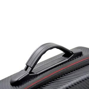 Image 4 - Mavic Air Waterproof Bag Handbag Portable Case PU Carbon Skin Storage Box Shoulder Bag For DJI MAVIC AIR