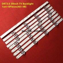 100% NEw LED strip 8 Lamp For LG TV NC390DUN 390HVJ01 lnnotek drt 3.0 39