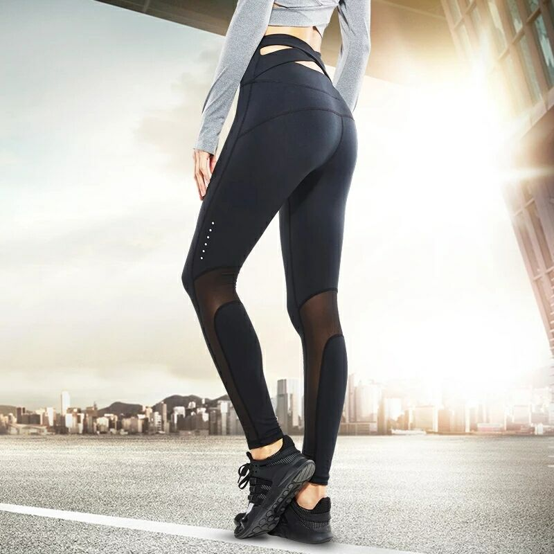 Running Pants Women Trousers Sports Tights Skinny Sexy Yoga Pants Girls Fitness Legging Compression tight