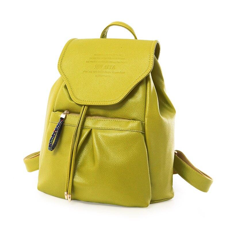 ФОТО High Quality Hot Sale New Arrival Women Backpacks Japan And Korean Style  All-match School Bag Women  Travel Bag STA8900 Green