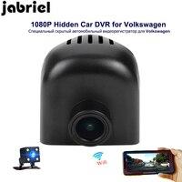 Jabriel Авто скрытый HD 1080 P Автомобильный регистратор wifi Автомобильный dvr заднего вида камера автомобиля для 2015 2018 Volkswagen Tuareg