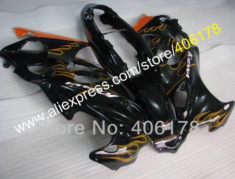 Hot Sales,98-07 GSXF750 GSXF600 Motorbike Fairing For Suzuki Katana GSX750f GSX600f 1998-2007 Flame Bodywork Fairing