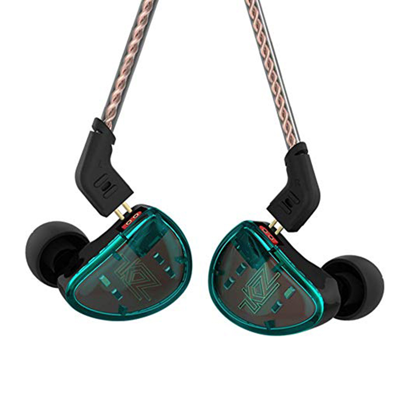 KZ AS10 In Ear Monitor Earphones Hifi Earphone Portable Headset with Micophone Sports Headphones Running Earphones Running
