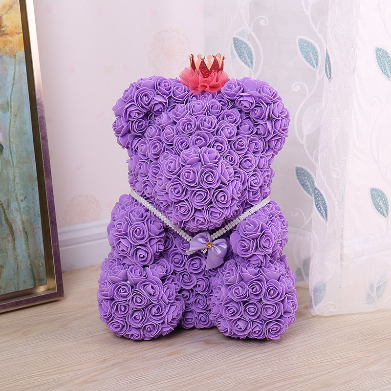 bear rose artificial flower (26)