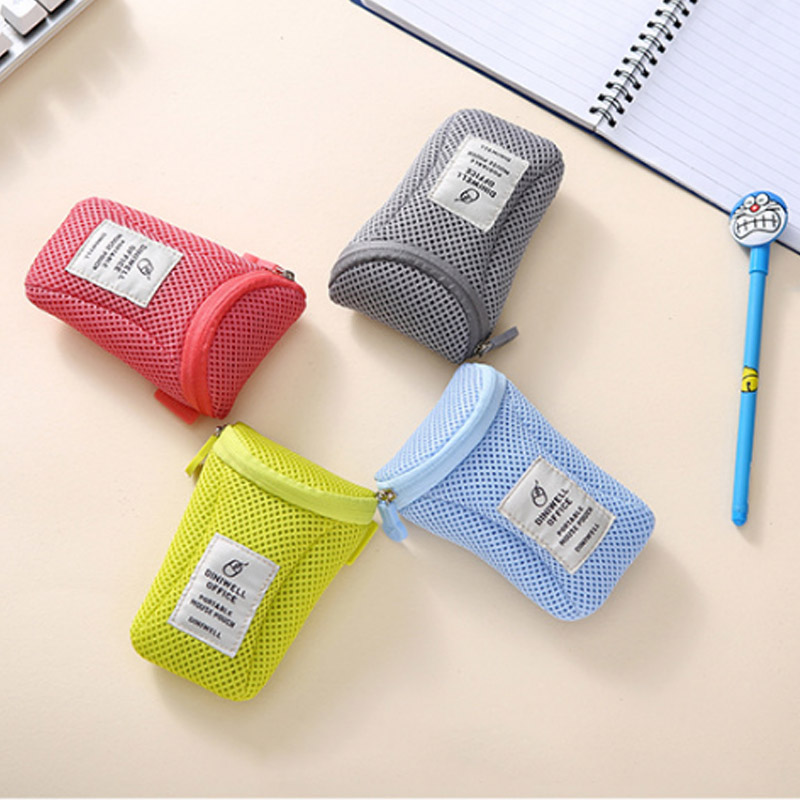 1pc Anti Vibration Charger Power Bag Earphone USB Wire Organizer Notebook Mouse Case Pouch Digital Cable Storage Bags in Storage Bags from Home Garden