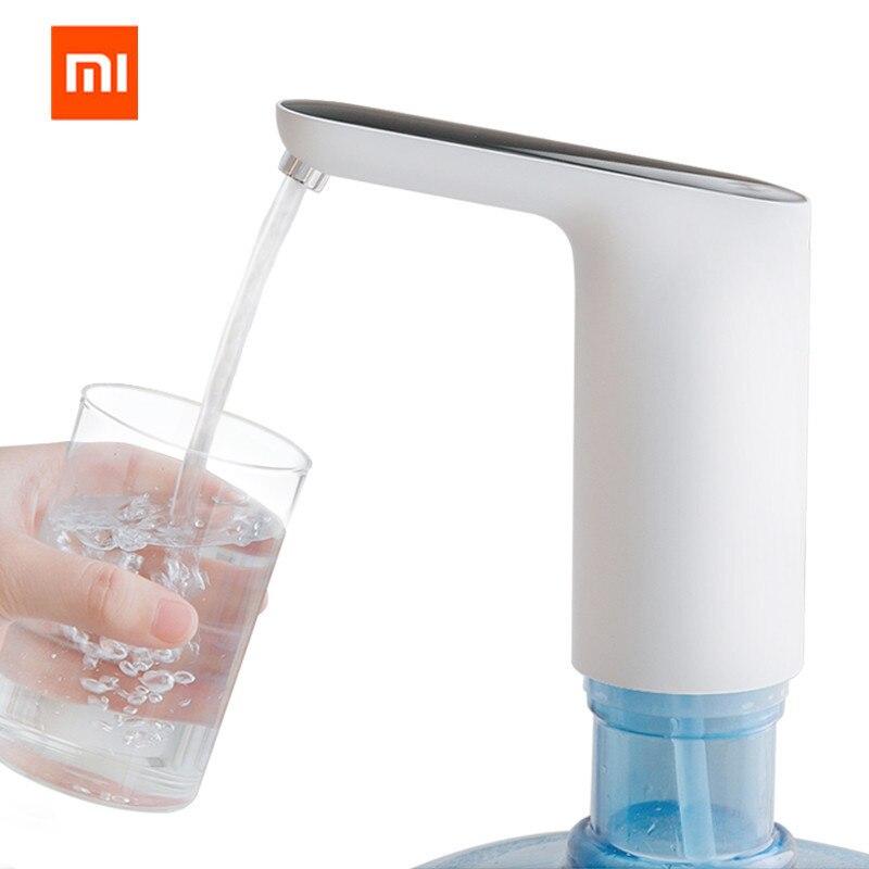 Dispensador de água xiaomi mijia 3life, bomba de água automática elétrica sem fio com sensor por toque recarregável com cabo usb