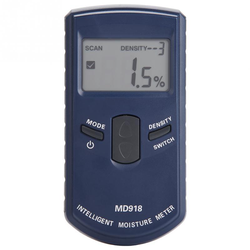 Gut Ausgebildete Md918 Digitale Holz Hygrometer Lcd Induktive Holz Feuchtigkeit Meter Detektor Holz Feuchtigkeit Tester 4% ~ 80% Rh Messung Und Analyse Instrumente