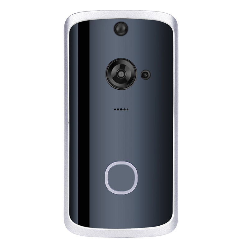 Smart Video Voice Doorbell,WiFi Smart Wireless Doorbell Security Home Camera Real-Time Video And Two-Way Talk,Night Vision