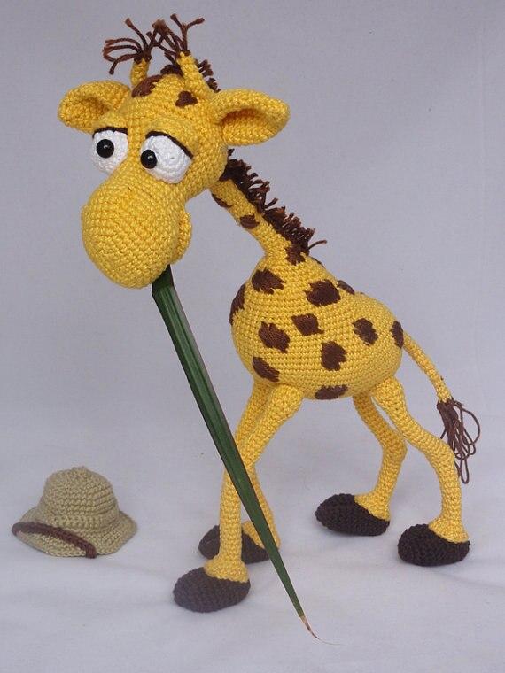 Amigurumi Häkeln Giraffe spielzeug puppe rasseln in Amigurumi Häkeln ...