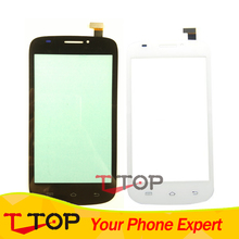 Tested Touch Screen For Prestigio MultiPhone PAP5000 PAP 5000 Duo Touch Panel Digitizer Replacement Black White Color 1PC/Lot