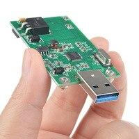 MSATA To USB3 0 Adapter Card Module Wi Fi Adapter Mini PCIE MSATA SSD To USB