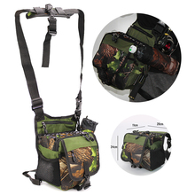 20*11*24cm Camo Multifunctional Fishing Bag Large Capacity Rod Hanging Storage Case 600D Accessories Waist Leg