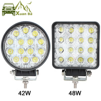 XuanBa 4 5 Inch 48W Round Led Work
