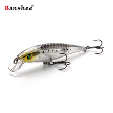 Banshee Chilly Stick Jerkbaits Minnows Floating Fishing Lure  90mm 10g Rattle Sound Wobbler Artificial Hard Bait For Bass