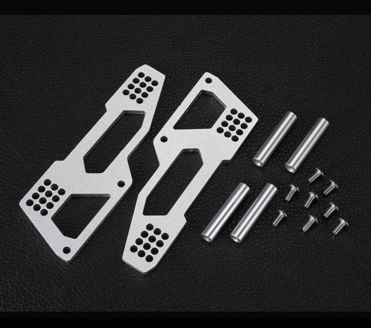 TF2 Body Built-in Fitting Body Shell Mounting Set 1/10 RC Crawler Car Housing Mounting Parts Fit AXIAL SCX10 I II DC1 injora new rc car interior decoration for 1 10 axial scx10 ii 90046 90047 cherokee body car shell