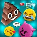 100% Original Oksense Emjoy Fun Power Bank 2600mAh Cartoon Feces/Demon/Like/Tears of Joy Portable Battery Charger for Cellphones