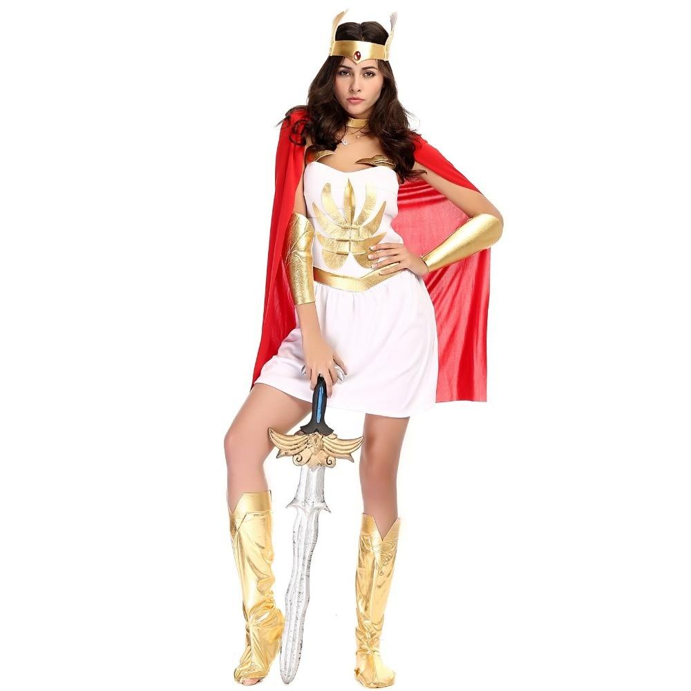 halloween costumes for women egypt roman female warrior dress greek goddess cosplay costume evening party fancy - Helen Of Troy Halloween Costume