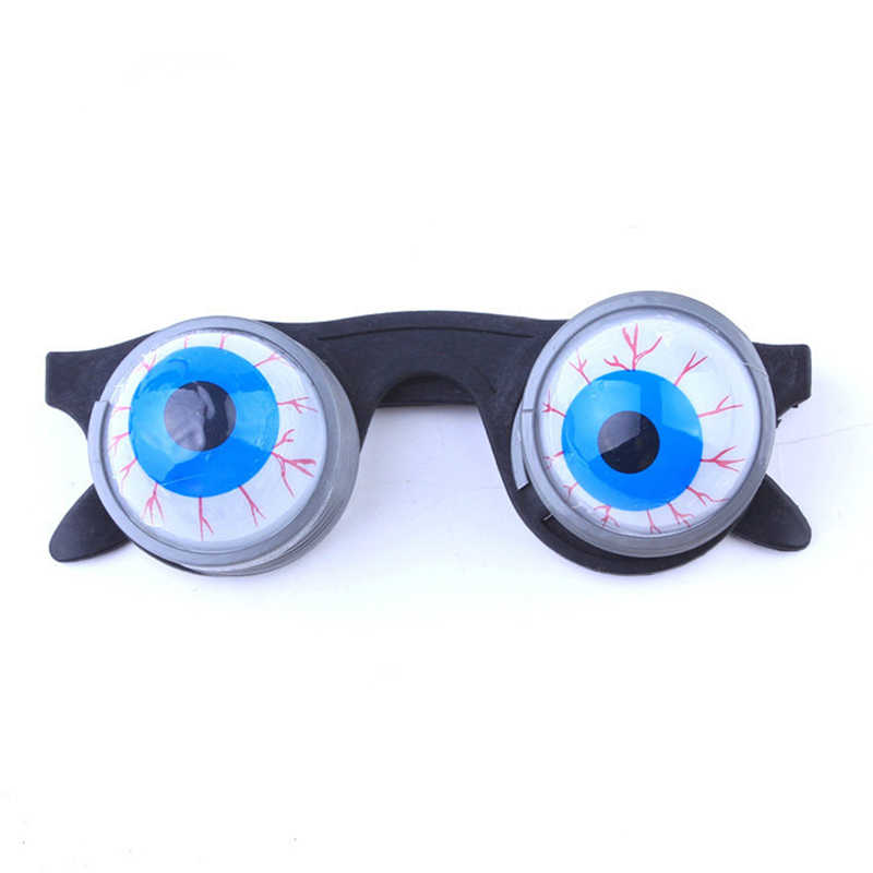 Halloween Decoration Eye Dropping Eyeball Glasses Horror Terror Scary Party Prank Funny Joke