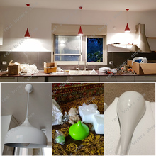 Kitchen Modern fashion simple led pendant light for dining room  Restaurant lamp aluminum hanging room lamp Renovation Lampshade