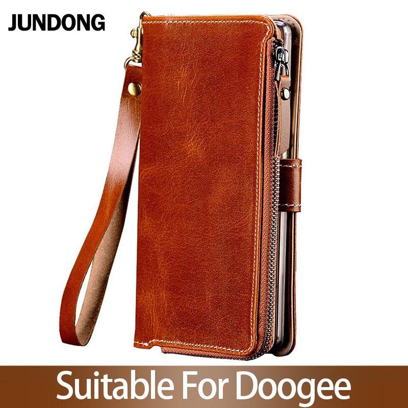 Pour Doogee X3 X9 X20 X10 X30 X50 X5 Max Mix 2 BL5000 BL7000 BL12000 Pro etui multifonction portefeuille téléphone sac de haute qualité