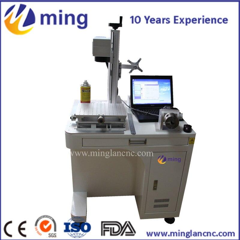 Discreet 10 W/20 W/30 W/50 W/75 W Nieuwe Model 3d Metalen Laser Printer/lasermarkeermachine Prijs/fiber Laser-markering Machine Keuze Materialen