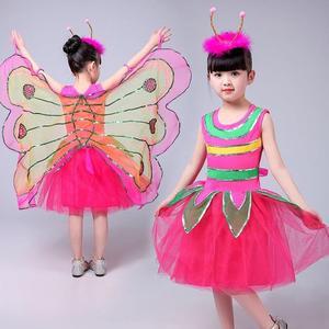 Image 4 - Nowa fantazja dziecko fantazja Halloween Infantil zwierząt skrzydła motyla karnawał dziewczyny dzieci motyl kostium