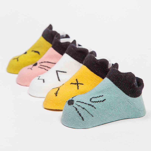 0c264a9818e Baby Alive Accessories Socs Kids Short Calcetines Pantufa Baby Socks  Newborn Animal Summer Spring Baby Girls
