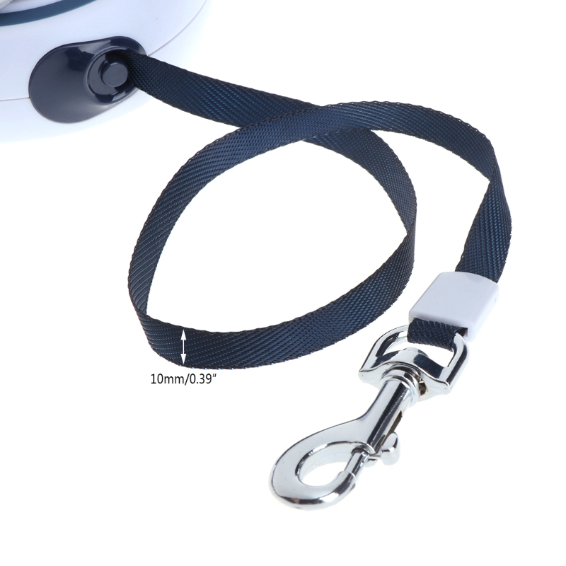 ABS Telescopic High-Grade Durable Automatic Retractable Dog Traction Rope Leashes Pet Leads