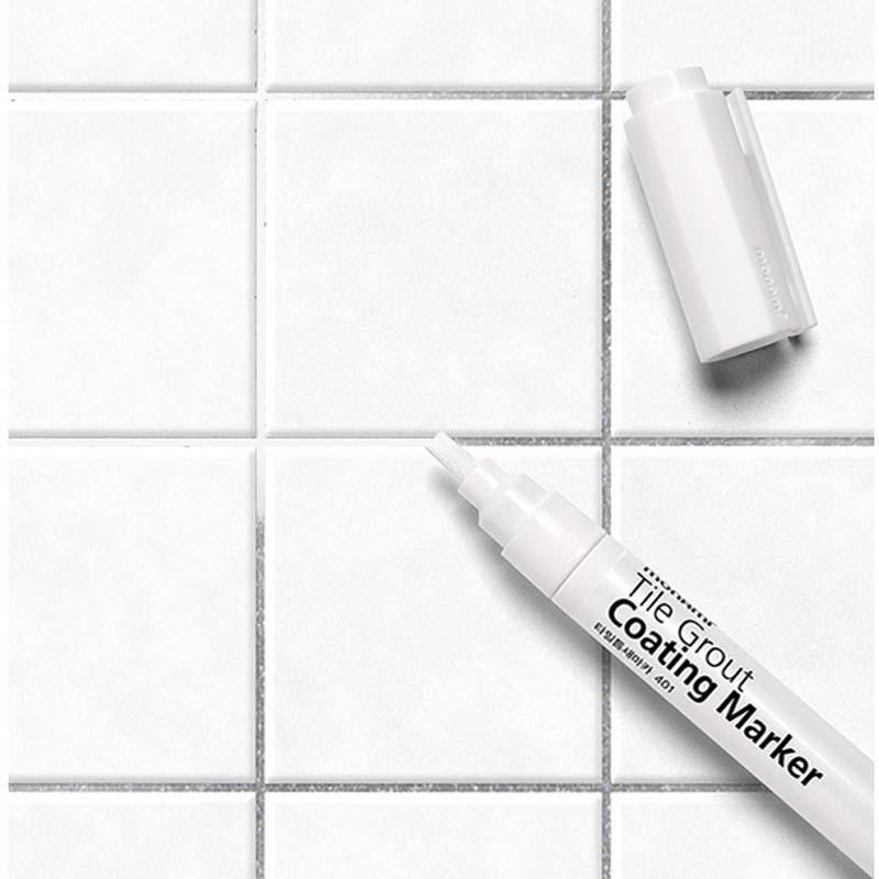 Tile Gap Repair Color Pen White Tile Refill  Artline Grout Pen Waterproof Mouldproof Filling Agents Wall Porcelain|tile grout|porcelain white|porcelain color - title=