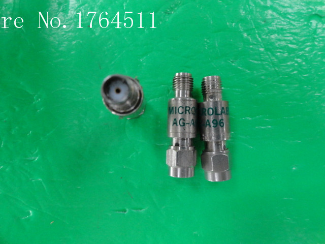 [BELLA] MICROLAB/FXR AG-A96 DC-18GHz 3dB 2W SMA Coaxial Fixed Attenuator  --2PCS/LOT