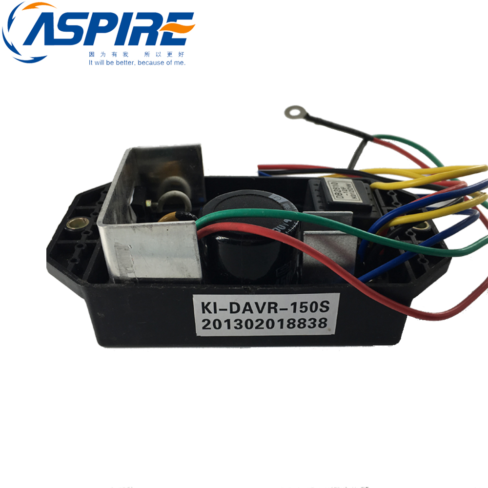 Free Shipping Generator Voltage Regulator KI-DAVR-150S KI DAVR 150S Diesel Generator AVR Single Phase free shipping ki davr 90s single phase 220v diesel generator suit for kipor and more generator avr automatic voltage regulator