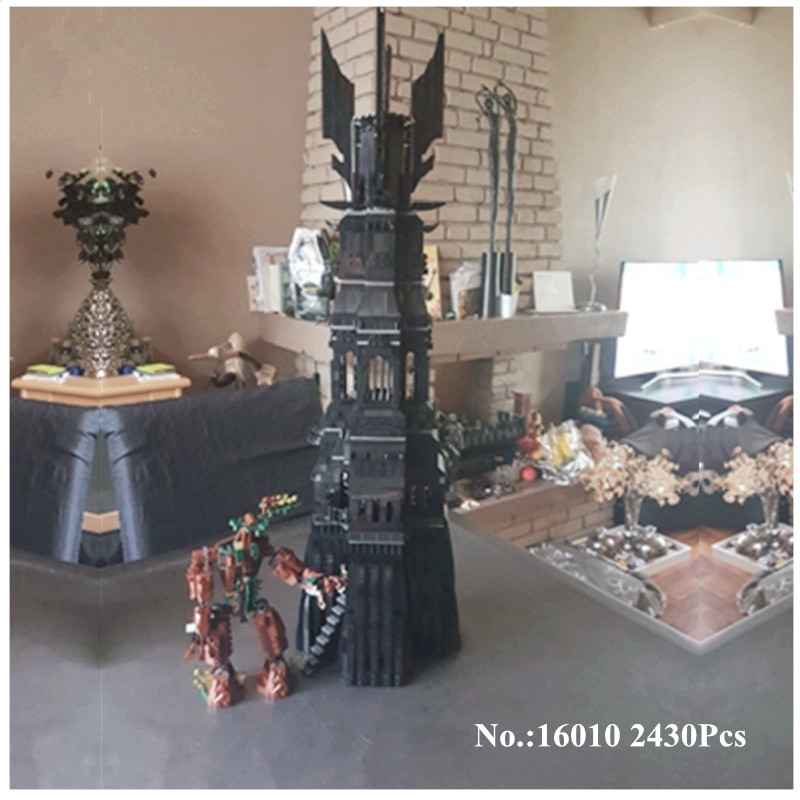 H&HXY In-Stock Free shipping 16010 2430Pcs Lord of the rings Lord of the rings LEPIN Model set Building Kits Model 10237