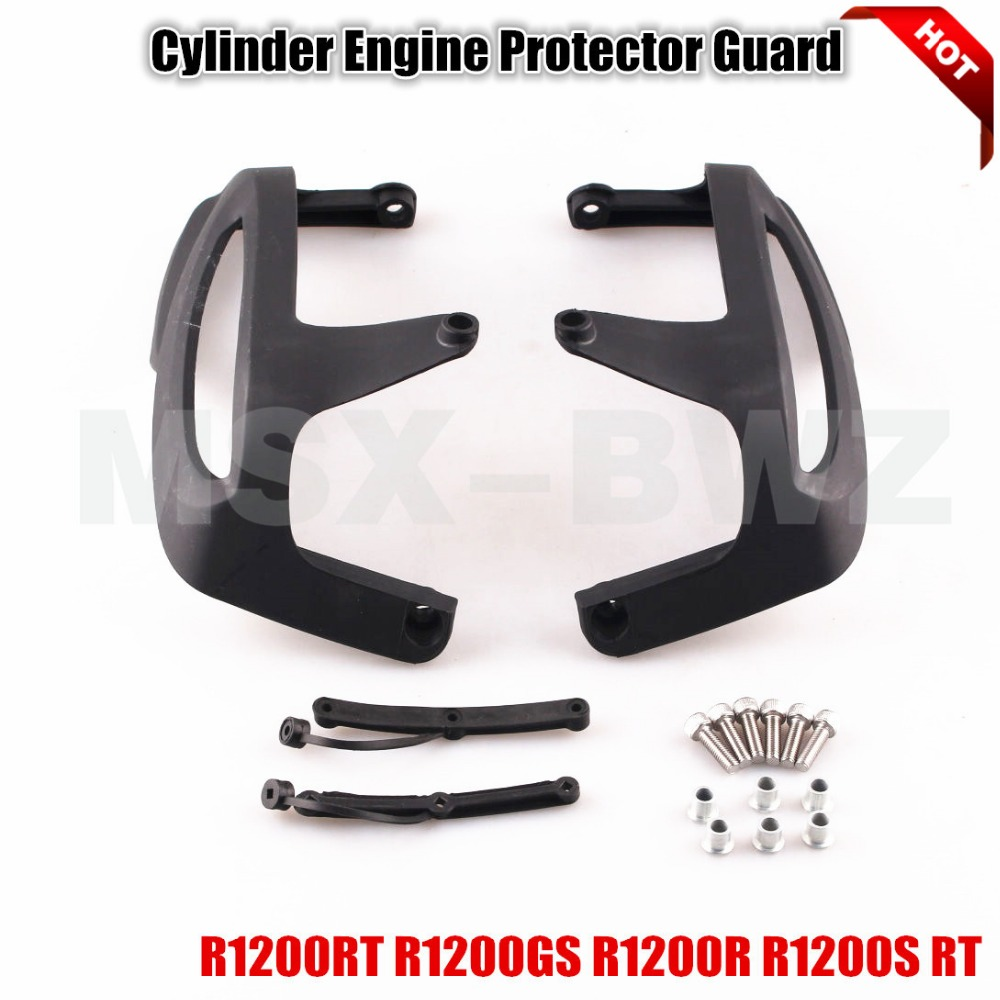 ФОТО New Palstic Cylinder Engine Protector Guard For BMW R1200RT R1200GS R1200R R1200S RT