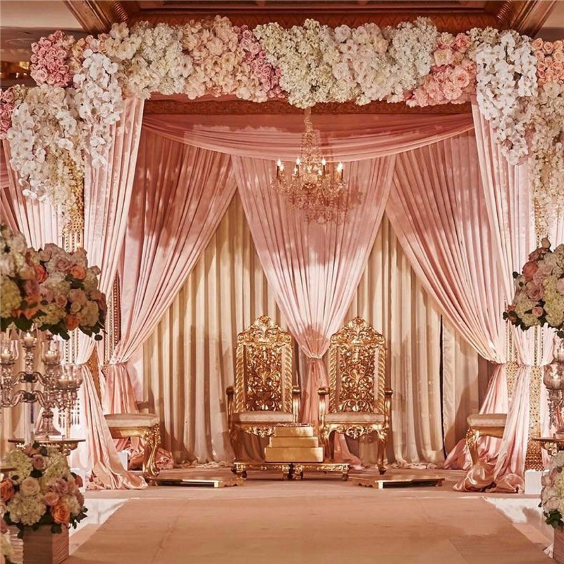1M luxury wedding Road cited flowers wall rose peony hydrangea DIY arch door Flower Row runner