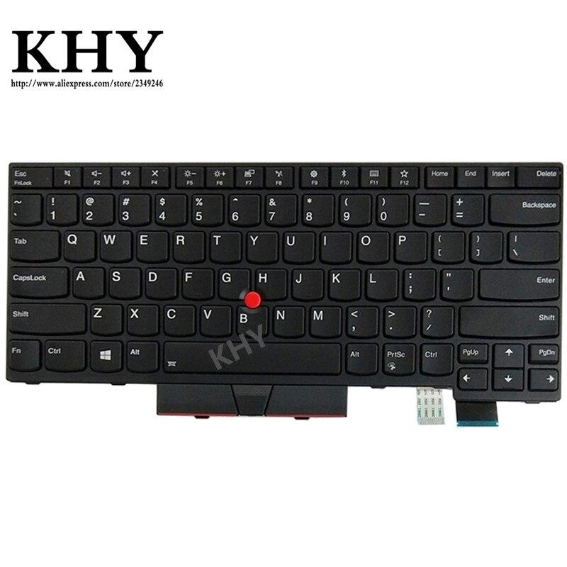 New Original US backlight Keyboard For ThinkPad A475 A485 T470 T480 P N 01AX487 01AX528 01AX569